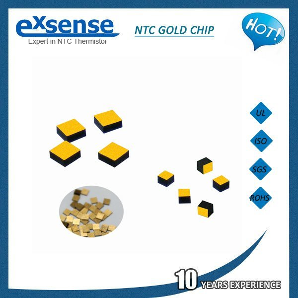 DT Series - Die(Bare Chip) Gold Electronde NTC Thermistors