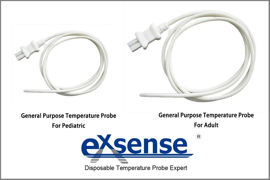 Exsense Medical Designed A Special Size Of General Purpose Temperature Probe For Pediatric Using